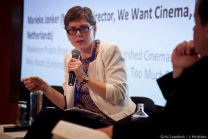 Marieke Jonker, We Want Cinema at Europa Cinemas